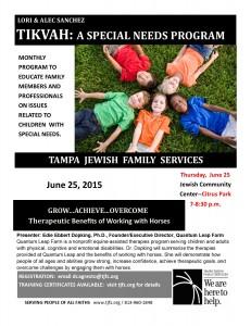 June 2015 Tikvah