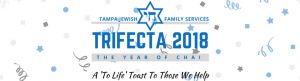 2018 Trifecta @ TJFS Trifecta: Year of the Chai at Congregation Schaarai Zedek