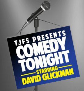 TJFS Comedy Night Starring David Glickman @ Carrollwood Country Club